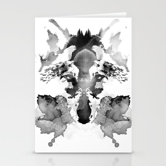 Rorschach Stationery Cards