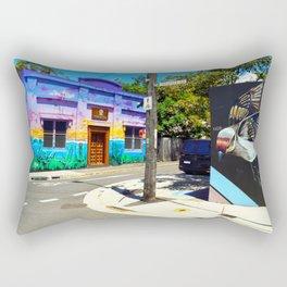 Somewhere in Newtown Rectangular Pillow