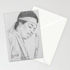 Hendrix print Stationery Cards