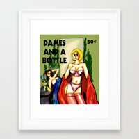 pulp Framed Art Prints featuring Pulp by JT Wilkins