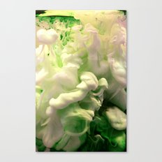 Green envy Canvas Print