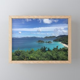Island View Framed Mini Art Print