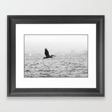 fishing... Framed Art Print