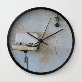 Old Sink Wall Clock