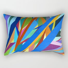 Blue River I Rectangular Pillow