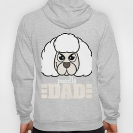 Garb this cute and adorable Poodle Dad tee for you! Best for Fur parents like you!  Hoody