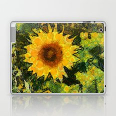 you can't have enought sunflowers Laptop & iPad Skin