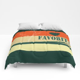 A gift for a man . Favorite . Comforters