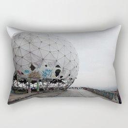 Teufelsberg, abandoned spy station Rectangular Pillow
