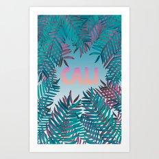 CALI VIBES Art Print