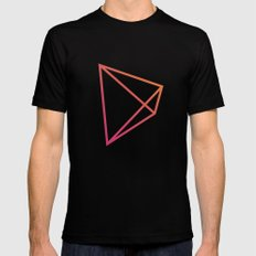Geometry Mens Fitted Tee SMALL Black