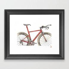 English TT Framed Art Print