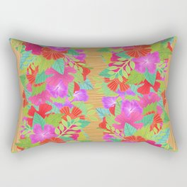 Tiki Vibes Rectangular Pillow