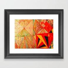 DayTrippin' Framed Art Print
