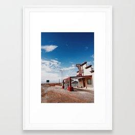 Old Hazen Market Framed Art Print