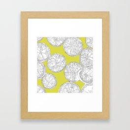 Extra Trendy Limes Framed Art Print