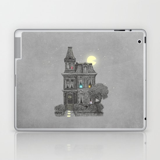 Haunted by the 80's Laptop & iPad Skin