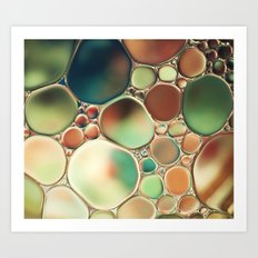 Pastel Abstraction Art Print