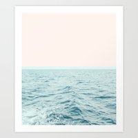 Art Prints featuring Sea Breeze #society6 #decor #style #tech by 83 Oranges™