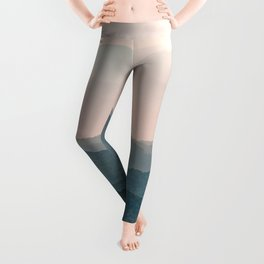 Smoky Mountain Pastel Sunset Leggings