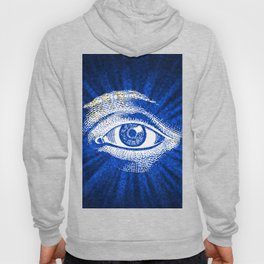 Shining Eye Retro Pattern Hoody