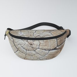 Tree rings of time Fanny Pack