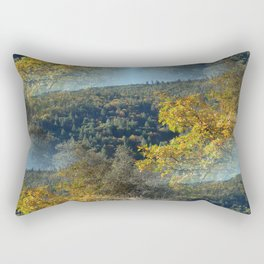 Fall Colors in another galaxy... Rectangular Pillow