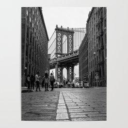 Manhattan Bridge Dumbo Brooklyn Poster