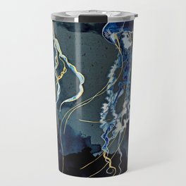 Metallic Ocean III Travel Mug