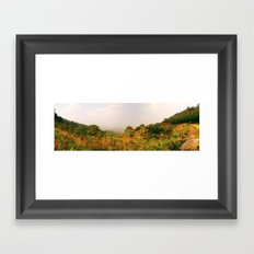 Scenic Steep Framed Art Print