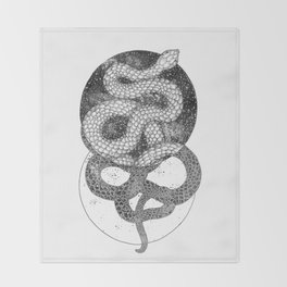 Good and Evil Throw Blanket