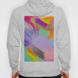 Contemporary abstract painting Hoody