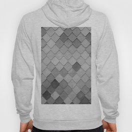 Fifty Gray Shades of Tiles (Black and White) Hoody