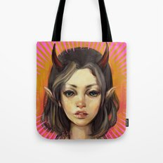 Monster Girl #1  Tote Bag
