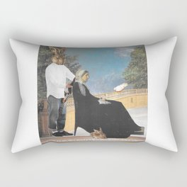 Whistler's Hare-Cut Rectangular Pillow