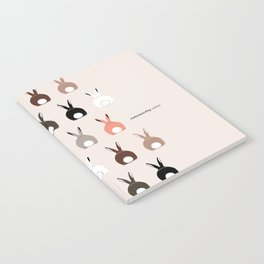 Bunny Butts Notebook