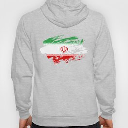 Iran Flag T Shirt Hoody
