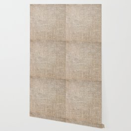 Len Sack Fabric Texture Wallpaper