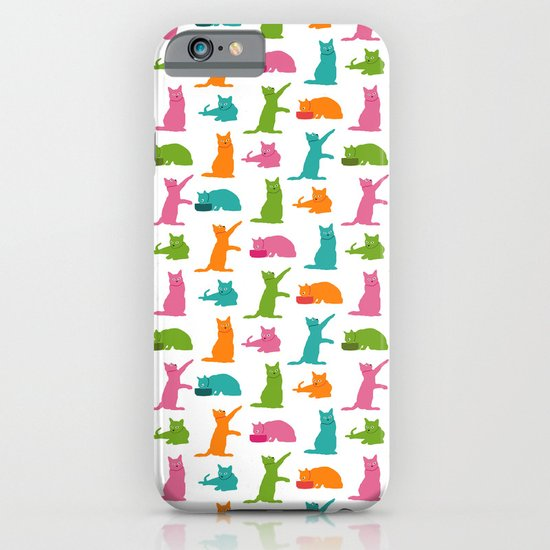 Cats Multicolor iPhone & iPod Case