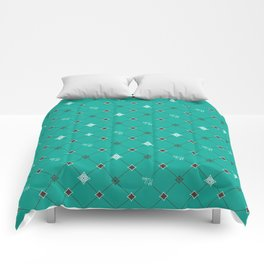 Breakfast at Tiffany's with Mint Chocolate Comforters