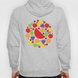 Colorful Fruit Circle Hoody
