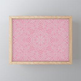 Mandala 19 Framed Mini Art Print