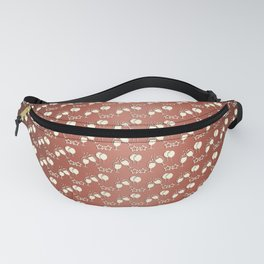 Abstract gradient holiday pattern. Fanny Pack