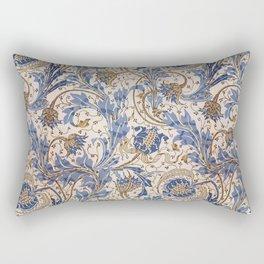 Aged Pomegranate Pattern Rectangular Pillow
