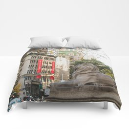 New York Public Library Comforters