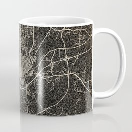 MERIDIAN map Mississippi Ink lines Coffee Mug