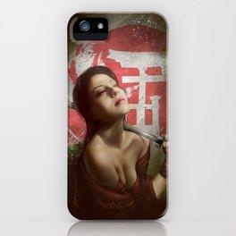 KATANA iPhone Case