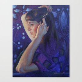 """Evening Glow"" Canvas Print"