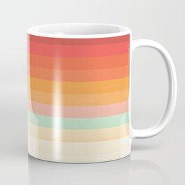 Rainbow Chevrons II Coffee Mug