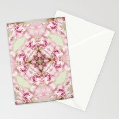 bouquet tulips in blue vase  (pattern/pillow) Stationery Cards